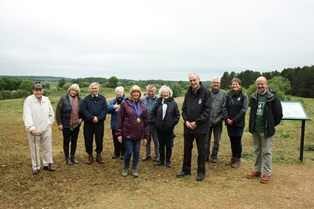 Group and Mayor at Waterford Heath